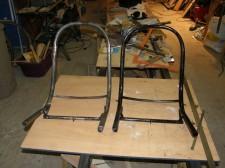 fabrication des sièges en tube cintrés à froid